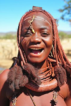 The people of Angola (Angolan groups Collectively & Diaspora) - Anthrocivitas African Tribes, African Women, We Are The World, People Of The World, Black Is Beautiful, Beautiful People, Himba Girl, Himba People, African Image