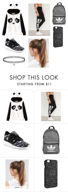Untitled #9 by lemonitadr on Polyvore featuring NIKE, adidas and Victoria's Secret