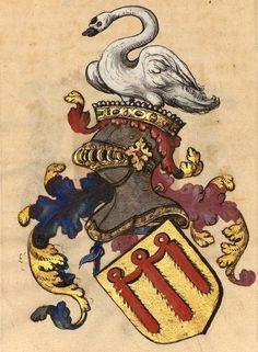Ames de Boulogne-Auvergne (f°36v) -- «Généalogie fabuleuse d'Anne de La Tour, comtesse de Boulogne, femme de Jean Stuart, duc d'Albany», XVIe s. [BNF Ms Fr 20209]