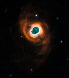 Planetary Nebula K 4-55  It looks like another world.