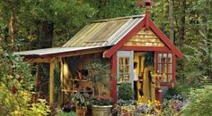 Garden shed. Lean to look for the cabin.