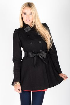 It's here! Our first peacoat of the season. Perfect for winter fashion and only $58.50