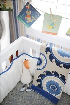 Dakota Blue Baby Bedding