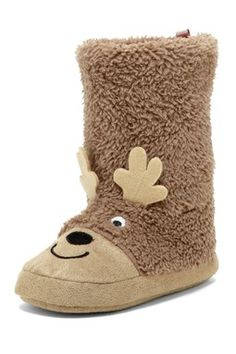 Carter's Lu Raccoon Slipper (Toddler & Little Kid)