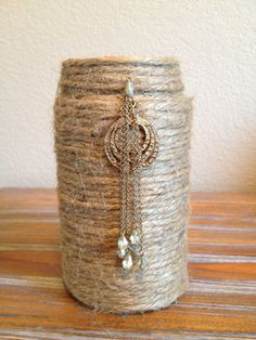 Baker S Twine Crafts Wrapped Votives Craft Projects Gift Ideas