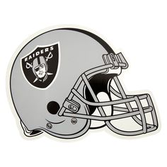 088f34e6824 NFL Oakland Raiders Small Outdoor Helmet Decal