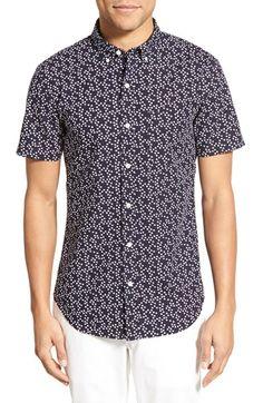 Bonobos Slim Fit Floral Short Sleeve Sport Shirt Camisetas Masculinas aab3d36d6cced