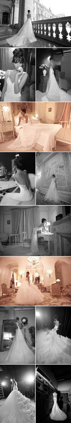 Haute Couture Wedding Gowns from designer Inbal Dror Couture Wedding Gowns, Dream Wedding Dresses, Designer Wedding Dresses, Jolie Photo, Queen, Here Comes The Bride, Wedding Attire, Wedding Pictures, Wedding Bells