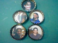 the second set of Plaidman/Driver bottle caps.