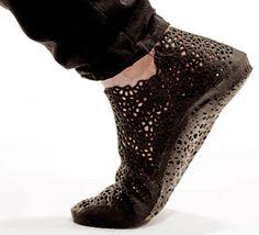 3D Printed XYZ shoes by Earl Stewart | urdesign magazine