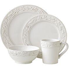 Mikasa Dinnerware French Countryside Collection | White dinnerware French countryside and Mikasa  sc 1 st  Pinterest & Mikasa Dinnerware French Countryside Collection | White dinnerware ...