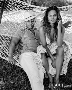 John Legend and Chrissy Teigen.