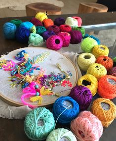 Textile Texture, Textile Art, Embroidery Stitches, Hand Embroidery, Abstract Embroidery, Hand Stitching, Needlework, Projects To Try, Weaving