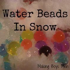 Water Beads Sensory Fun
