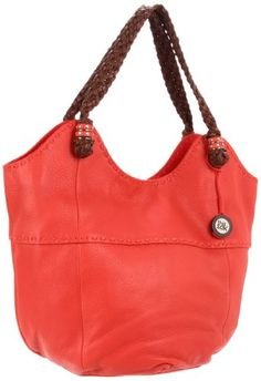 The SAK Indio Tote,Cayenne,One Size Add a little glamour to your casual attire with this beautifully detailed tote from The Sak Handbags™. Made of metallic natural grain leather. Holds your wallet, sunglasses