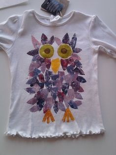 Eulen T-Shirt coole Mädchen