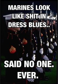 Dress Blues <3