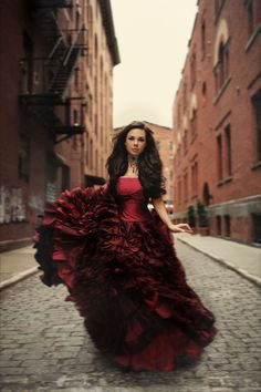 Sue Bryce Red Dress