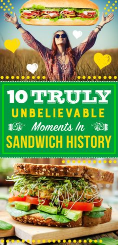 With the arrival of paninis at Subway®, a new, delicious chapter has been added to the sandwich history book — which definitely does not contain these moments, because they 100% did not happen. Or did they?