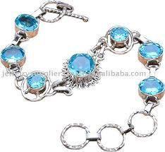 gold and blue hydrangea pendant   Oval Blue Topaz Gemstone Ring, Sterling Silver, 18k gold Hydrangea ...