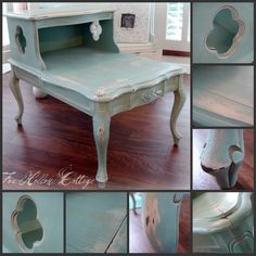 Fox Hollow Cottage: Frenchy La~La Gets Some Love - Homemade Chalk Paint!