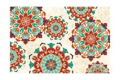 Trademark Global Veronique Charron Folk Floral 8 Canvas Art - 20 x 25 Artist Canvas, Canvas Art, Fall Mantel Decorations, Abstract Styles, Cool Posters, Shades Of Red, Online Art Gallery, Folk, Tapestry