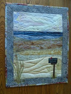 A wonderful ART Quilt using Strips!