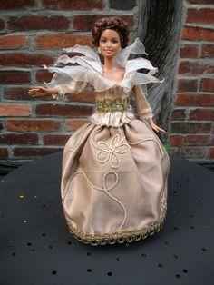 Puppenkleidung - Barbiekleid, Kleid f´ür Barbie - ein Designerstück von oma-wichtelmann bei DaWanda