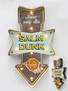 Salm Dunk Işıklı Pano