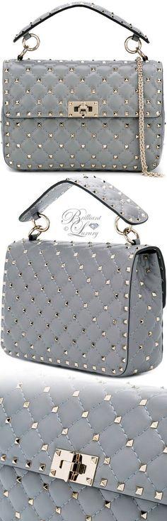 Brilliant Luxury by Emmy DE ♦ Valentino Garavani Rockstud Spike Crossbody Bag