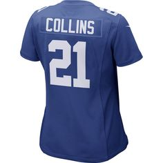 Women s New York Giants Landon 21Collins Royal Blue Game Jersey 6cebbe4d5