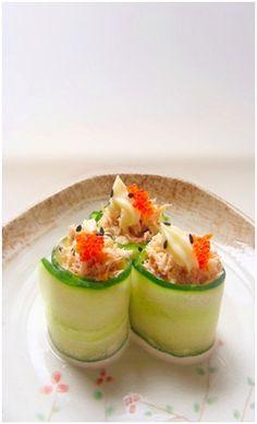 Cucumber and Crab Rolls