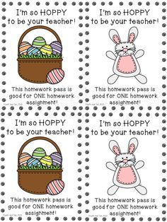 easter homework coupons - Google Search