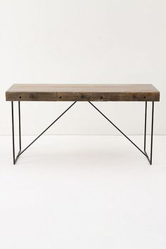 ANTHROPOLOGIE, BODHI DESK: and by bodhi, they better mean p-swayze, point break style.: