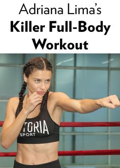 Click ahead to see Adriana Lima do her exact workout - it's major fitspo!