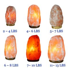 Crystal Salt Himalayan Natural Rock Pink Salt Lamps Air Purify Home Decor Ideas #Modern