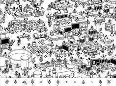 Hidden Folks : un puzzle-game dessiné à la main absolument charmant