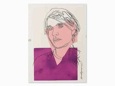 Andy Warhol, 'Self Portrait', 1978 - by Auctionata AG #contemporary #PopArt