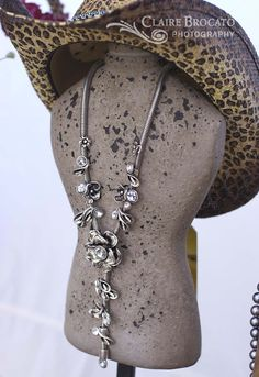 Jewelry by The Paris Cowgirl@The Vintage Marketplace march 2012 show...