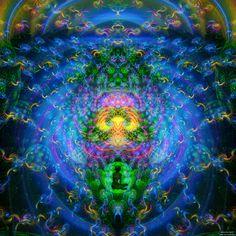 A dream from inside the rainbow by James Alan Smith #art #digitalart #visionaryart