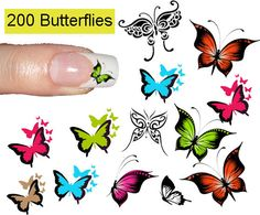 butterfly nail decals stickers | il_570xN.372024024_4igz.jpg