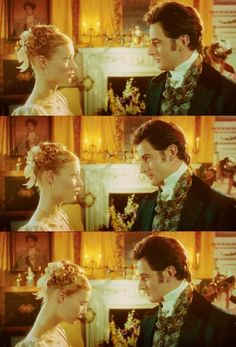 Mr. Knightley: It was most kind of you to invite Jane Fairfax this evening.  Emma: Your words the other day shamed me. I have not tried as I should have.   Mr. Knightley: You are capable of great kindness.  Emma: I fall short so often.  Emma (1996)