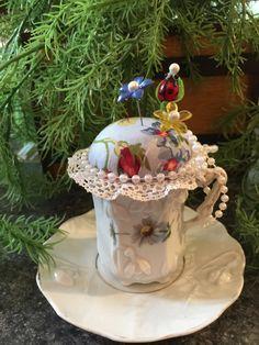 Dainty Floral Pincushion