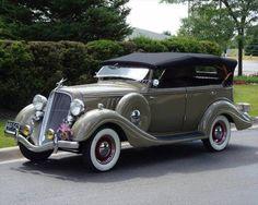 1934 Hudson Terraplane Phaeton