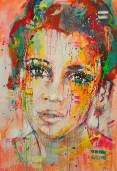 "Saatchi Art Artist Marta Zawadzka; Painting, ""Anna"" #art"