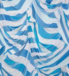 Judy Stripe Blue and White Wallpaper – Voutsa Blue And White Wallpaper, Striped Wallpaper, Purple Wallpaper, Fabric Wallpaper, Hd Wallpaper, Wallpapers, Coat Patterns, Wall Patterns, Childrens Bathroom