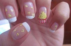 fun nail art designs Step By Stepfun nail art ideas Colour Cute Nail Art, Cute Nails, Pretty Nails, Carnival Nails, Nail Art Designs, Food Nail Art, Nail Art For Kids, Manicure Y Pedicure, Girls Nails