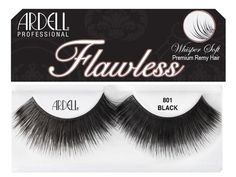 Transform your look with these beautiful Ardell Flawless Lashes! Eyelashes How To Apply, Ardell Eyelashes, Applying False Lashes, Applying Eye Makeup, Fake Lashes, Long Lashes, False Eyelashes, Evening Makeup, Perfect Eyebrows