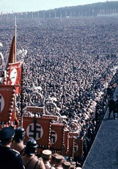 NSDAP Rally in Nuremberg.