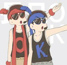 Osomatsu y Karamatsu <3